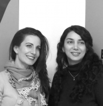 Mira Eskandari y Mónica Velasco